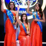 """""""मिस इन्टरकन्टिनेन्टल नेपाल –२०१७"""" को ताज पहिलो ताज बर्षाले जितिन"""
