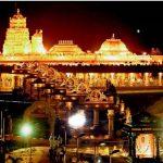 १५ सय किलो भन्दा बढि सुनले निर्माण गरिएको आकर्षक सुन्दर मन्दिर