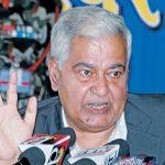 """पूर्व उपराष्ट्रपति झाले भारतीय मिडियालाई """"नेपाल मगन्ते देश हो """" किन भने  ?"""