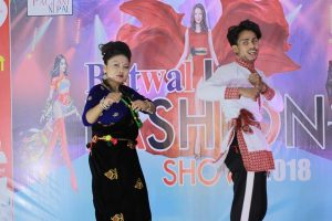 pagent nepal fashion show on butawal