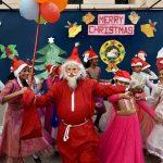 विश्वभरका इसाई धर्मावलम्बीहरुले क्रिसमस पर्व मनाउदै, नेपालका चर्चहरुमा समेत रमझम