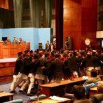कांग्रेसद्वारा संसद अवरुद्ध, बैठक १५ मिनेट स्थगित