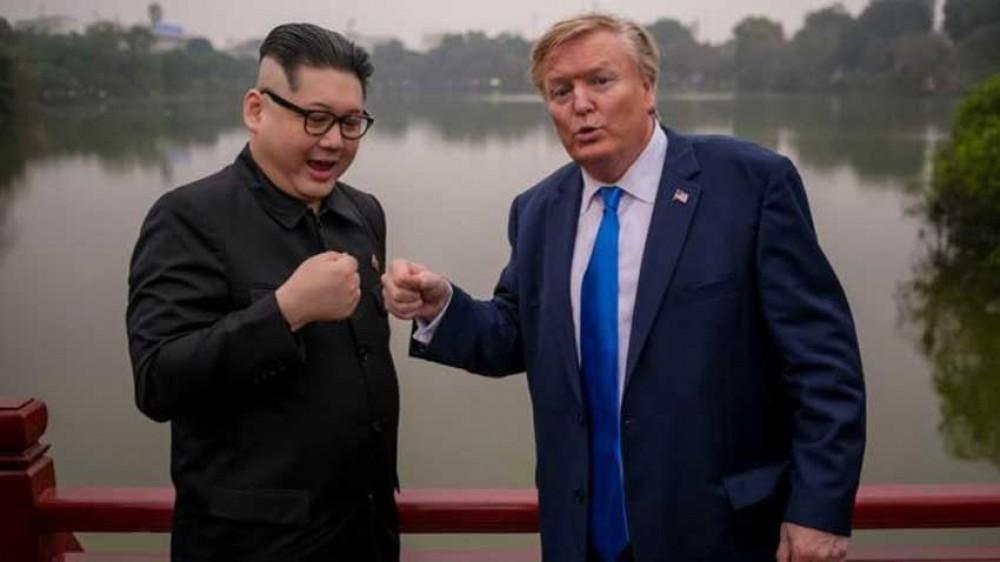 किम र ट्रम्पका 'डुप्लिकेट' भियतनाम पुगे