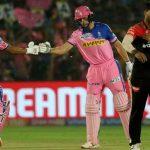 इण्डियन प्रिमियर लिग (आईपीएल) क्रिकेटमा राजस्थानको पहिलो जित, बैंग्लोर लगातार पराजित