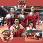 एसियन साम्बोमा पाँच खेलाडीले नेपाललाई दिलाए पदक