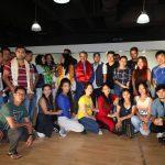नेपाल फ्युजन डान्स क्रु,दुवई द्वारा गीतकार युवराज अधिकारी सम्मानित
