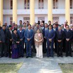चेम्वर पदाधिकारी र राष्ट्रपति बिद्यादेवी भण्डारीबीच भेटबार्ता