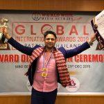 नायक संजित भण्डारीलाइ थाइल्याण्डमा बेस्ट डेब्यु ग्लोबल इन्टरनेशनल अवार्ड
