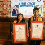दुई नेपाली युवा वल्ड बुक अफ रेकर्ड अन्तरार्ष्टिय उपाधिबाट सम्मानित