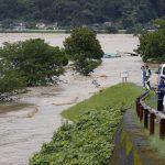 जापानमा बाढी र पहिरोमा परी १५ जनाको मृत्यु,नौ बेपता, लाखौ विस्थापित