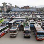 लामो दुरीका यात्रुले खाना/खाजा आफैं बोक्नुस् :यातायात व्यवस्था विभाग