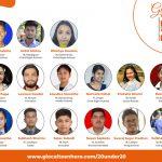 ग्लोकल टीन हिरो नेपाल अन्तर्गत,ग्लोकल -२० अन्डर २० को सूची सार्वजनिक