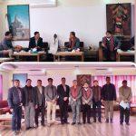नेपाल चेम्वर अफ कमर्स तथा नेपाल सुन चांदी व्यवसायी महासंघका नवनिर्वाचित पदाधिकारीहरु बीच छलफल