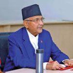 कोरोना संक्रमण परीक्षणका लागि प्रधानमन्त्री केपी शर्मा ओलीको स्वाब संकलन