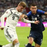 फ्रान्सले राति भएको खेलमा जर्मनीलाई १-० गोलले पराजित गरेको छ