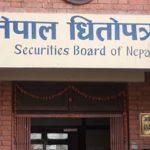 नेपाल धितोपत्र बोर्ड: ५१ कम्पनीले गरे शेयरमा चलखेल