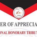 बिभिन्न क्षेत्रका ब्यक्तित्वहरु 'राष्ट्रिय मानार्थ सम्मान २०७८' बाट सम्मानित